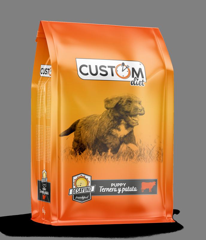 Custom Diet Puppy Ternera y patata