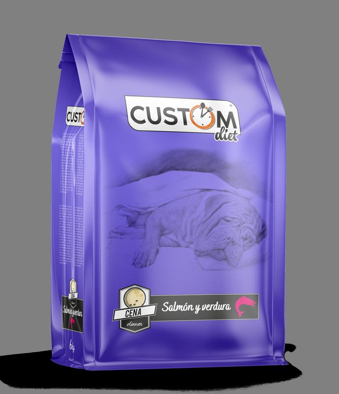 Custom Diet Salmón y verdura